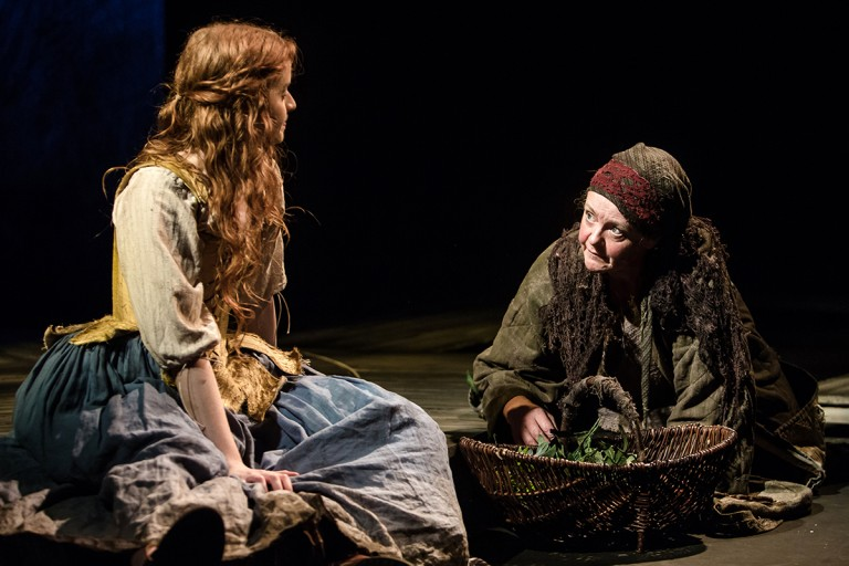 An Out of Joint, Watford Palace Theatre and Arcola Theatre co-production, in association with Eastern Angles. Jane Wenham: The Witch of Walkern. Photo Credit: ©Richard Davenport 2015, Richard@rwdavenport.co.uk, 07545642134