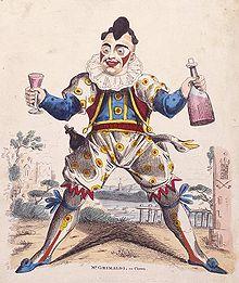 Grimaldi as Joey the Clown