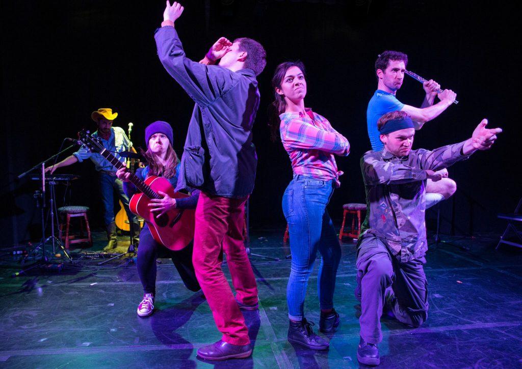 DugOut Theatre's The Sunset Five (Edinburgh Fringe 2015)