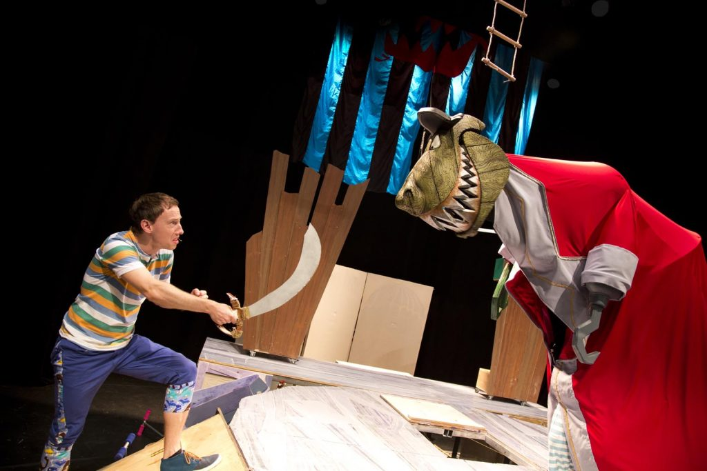 Captain Flinn and the Pirate Dinosaurs Credit Graham Lewis
