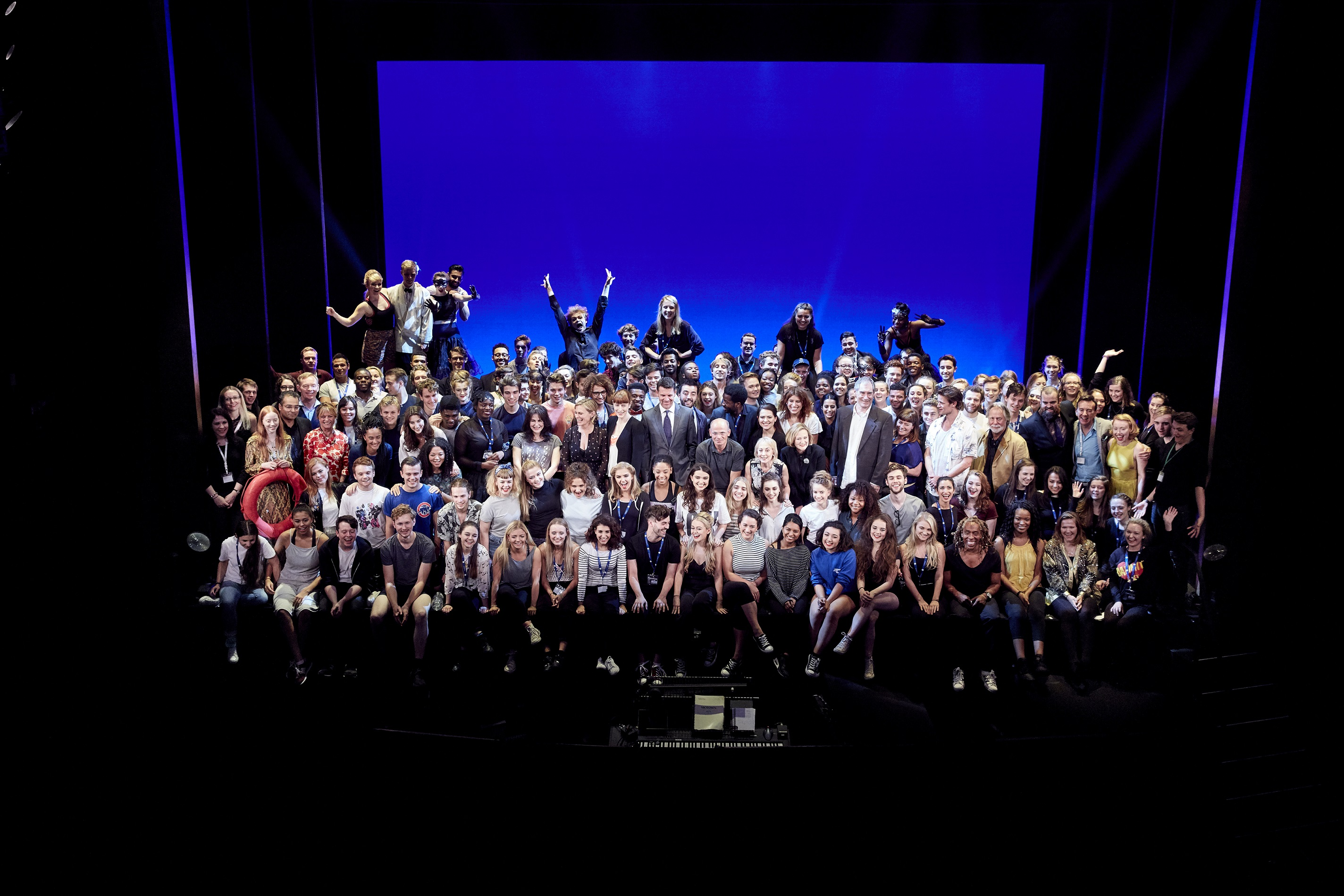 National Youth Theatre 60th Anniversary at The Shaftesbury Theatre.