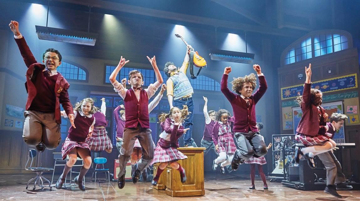 School of rock extends run on west end theatre bubble - School of rock box office ...