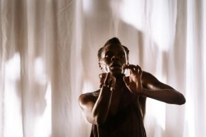 Okwui Okpokwasili in Bronx Gothic at the Young Vic