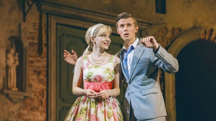 Dove Cameron and Rob Houchen in The Light in the Piazza at the Southbank Centre. Photo: Dewynters