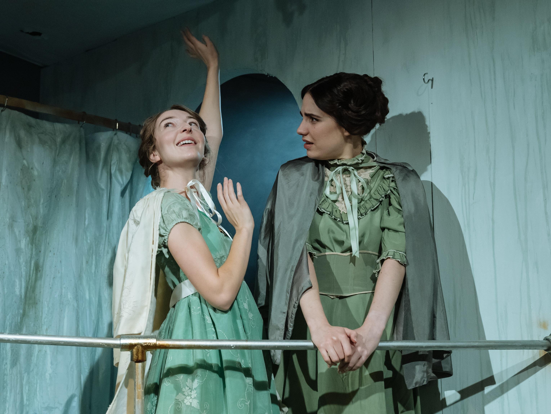 Fast, Park Theatre (credit Manuel Harlan) Jordon Stevens & Natasha Cowley