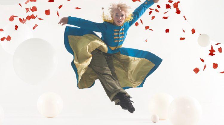 Faith Pendergast as the Little Prince. Photo Chris Nash